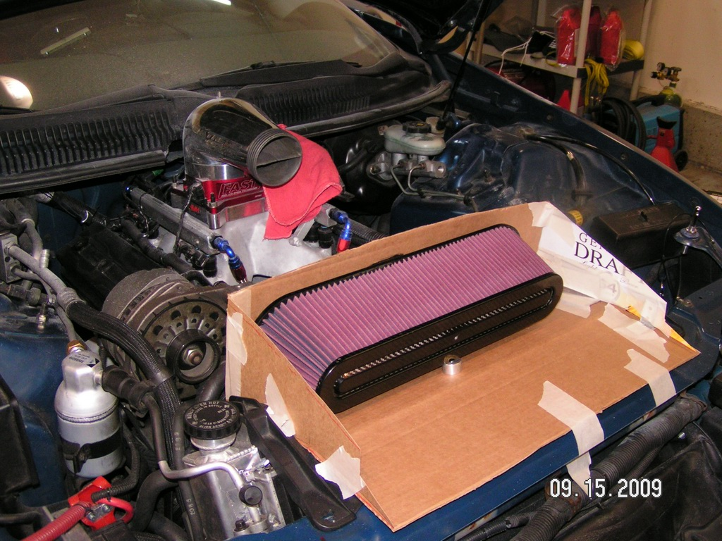 Lt1 Custom Intake Help Ls1tech Camaro And Firebird